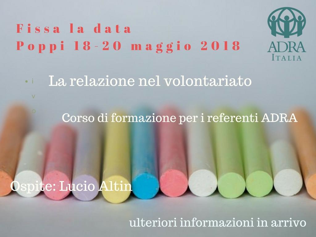 Incontro Formazione Volontari ADRA