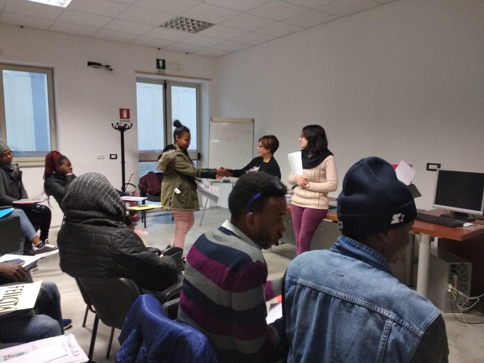 20 Studenti Al Corso Di Alfabetizzazione 2019